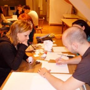 Workshop Teambildung und Kreativitätstraining, Dez. 2014